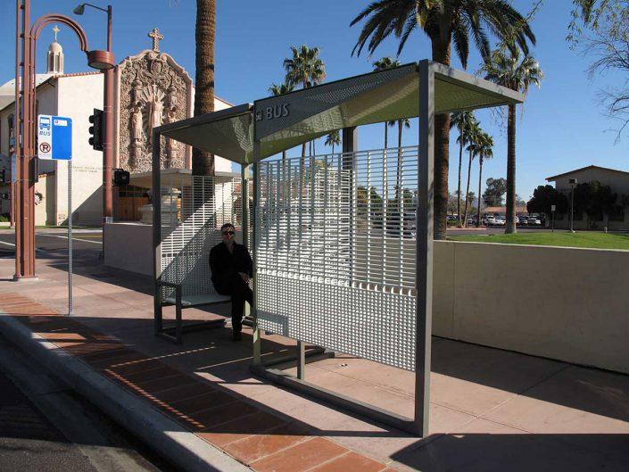A I R Inc Phoenix Bus Shelter