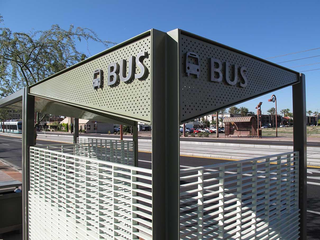 A I R Inc Phx Bus Shelter 10