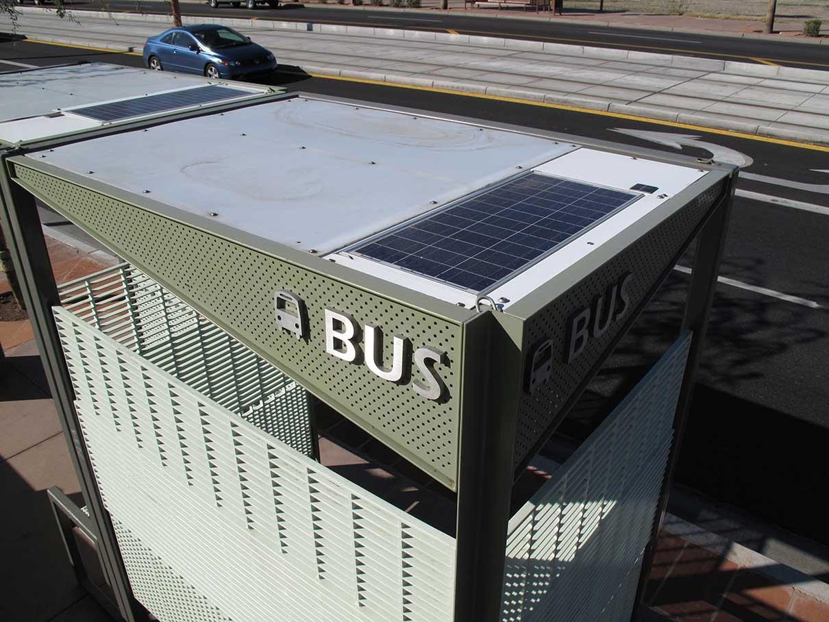 A I R Inc Phx Bus Shelter 11