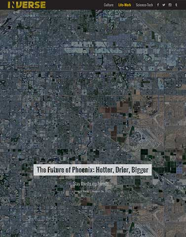 The Future of Phoenix: Hotter, Drier, Bigger | Inverse